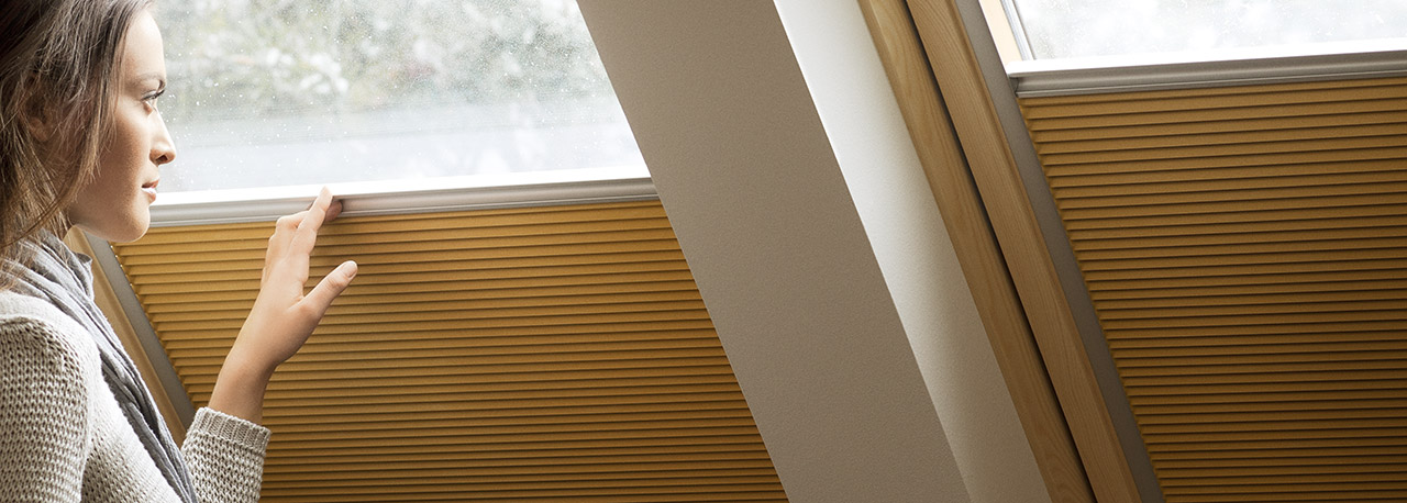 Velux Blackout Energy Blinds Insulation Improvements Of