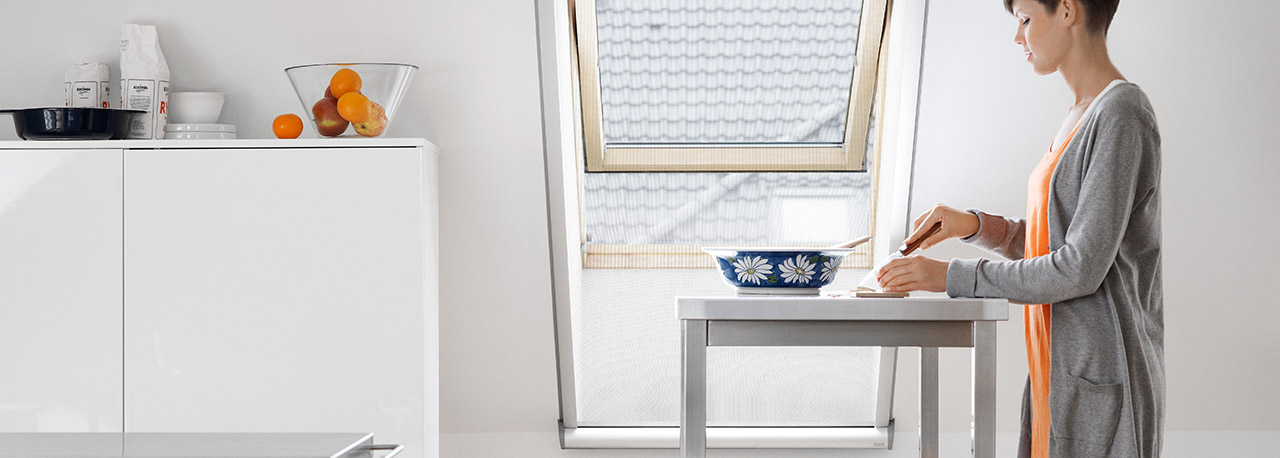 Velux Insect Screens Enjoy Fresh Air Without Any Insects