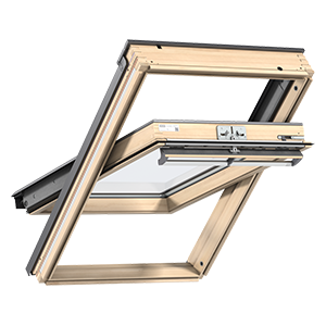 Centre-pivot roof window