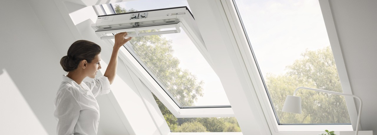Velux roof windows explore our product range for Cleaning velux skylights