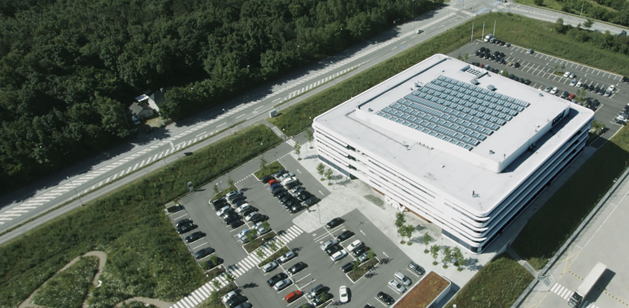 Dsv headquarters in denmark velux modular skylight cases Velux sun tunnel installation instructions