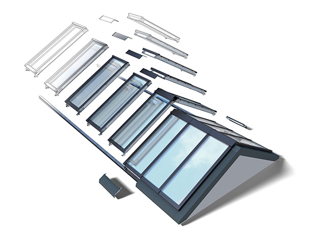 Velux ridgelight 25 40 self supporting rooflights for Velux customer support