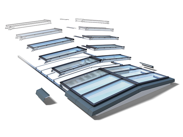 Velux ridgelight with beam 5 for a wide variety of spaces for Velux customer support